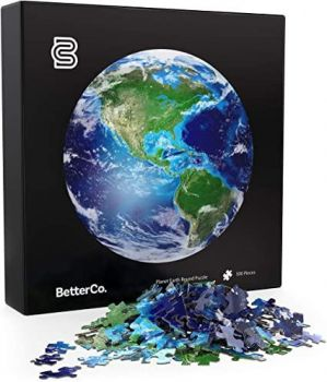 BETTERCO. PLANET EARTH ROUND PUZZLE