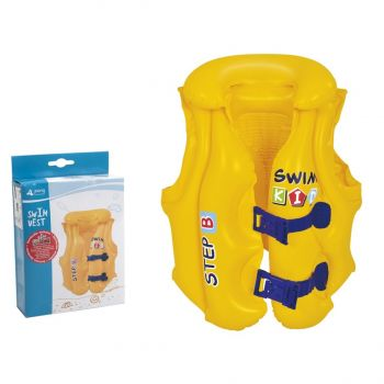 """SunClub - Child's Inflatable """"Step B"""" Safety Support Swim Vest"""