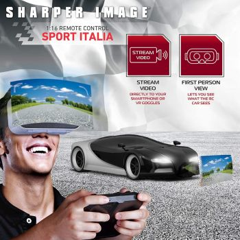 Car with Virtual Reality Headset